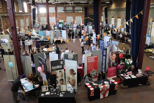 Last year's Swindon JobFest